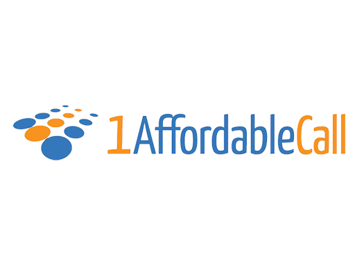 1 affordable call logo